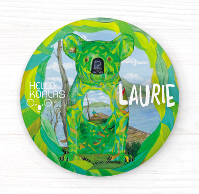 Hello Koalas Laurie Badge