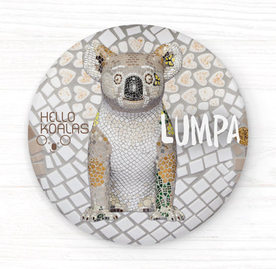 Hello Koalas Lumpa Badge