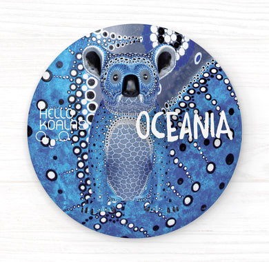Hello Koalas Oceania Badge