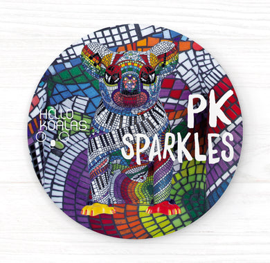 Hello Koalas PK Sparkles Badge