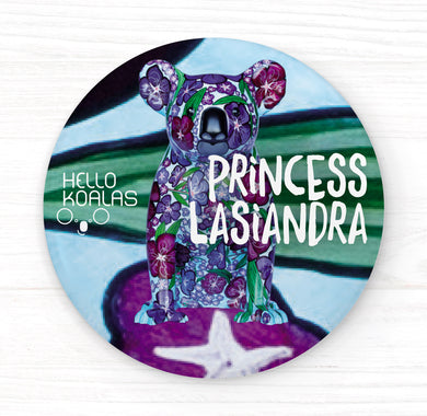 Hello Koalas Princess Lasiandra Badge