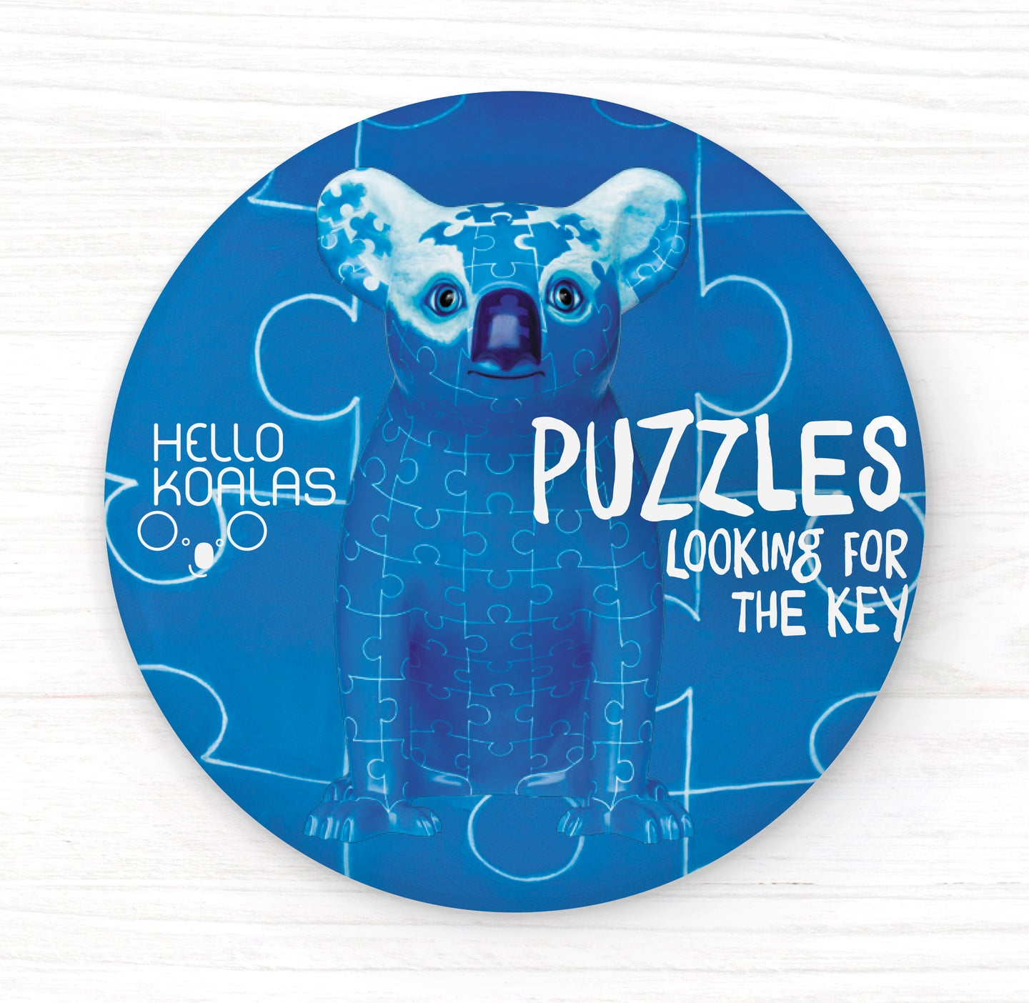 Hello Koalas Puzzles Looking for The Key Badge
