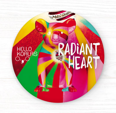 Hello Koalas Radiant Heart Badge