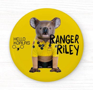 Hello Koalas Ranger Riley Badge