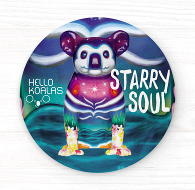Hello Koalas Starry Soul Badge