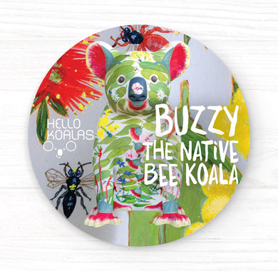 Hello Koalas Buzzy Badge