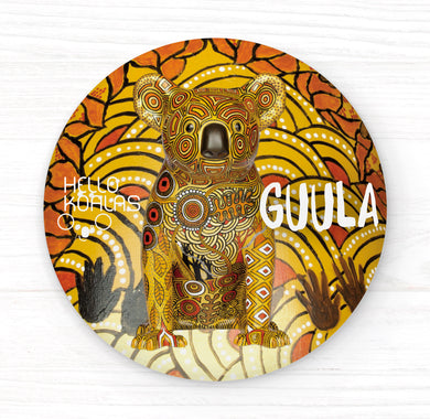 Hello Koalas Guula Badge