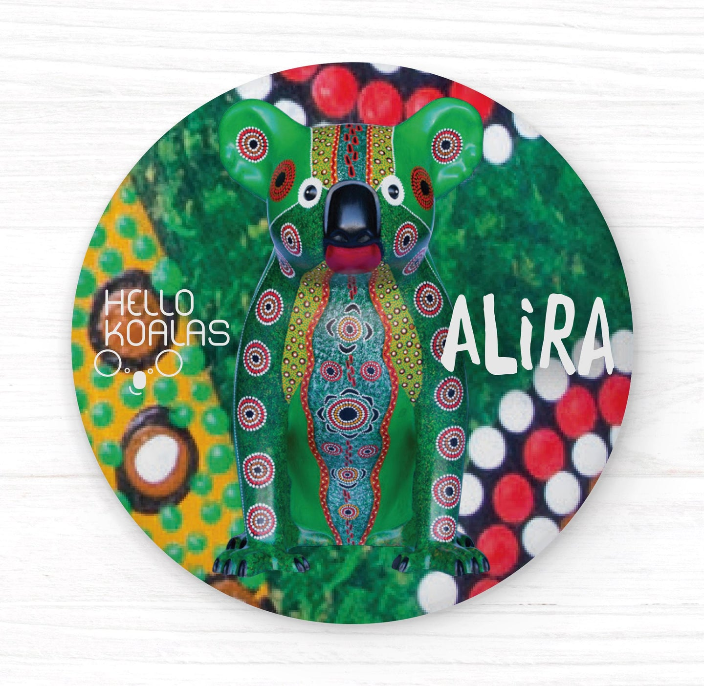 Hello Koalas Alira Badge