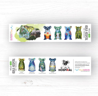 Hello Koalas Koala Hospital Bookmark
