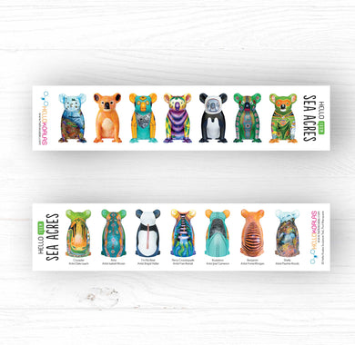 Hello Koalas Sea Acres Bookmark