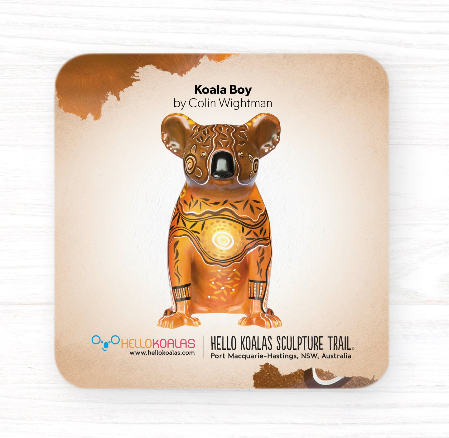 Hello Koalas Koala Boy Coaster