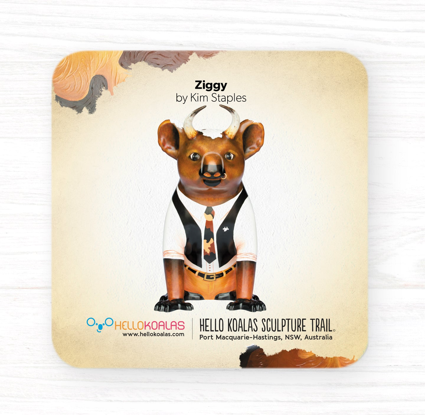 Hello Koalas Ziggy Coaster