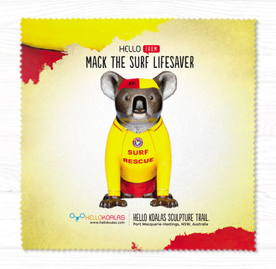 Hello Koalas Mack The Surf Lifesaver Cleaning Cloth
