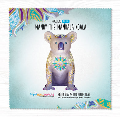 Hello Koalas Mandy The Mandala Cleaning Cloth