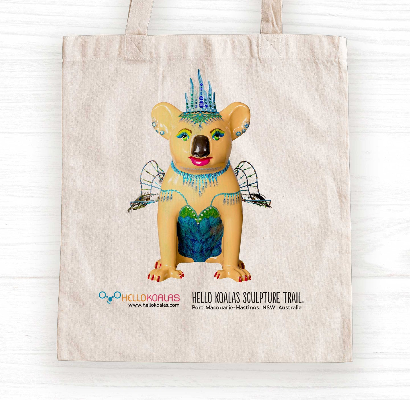 Hello Koalas Lady Lola Tote Bag