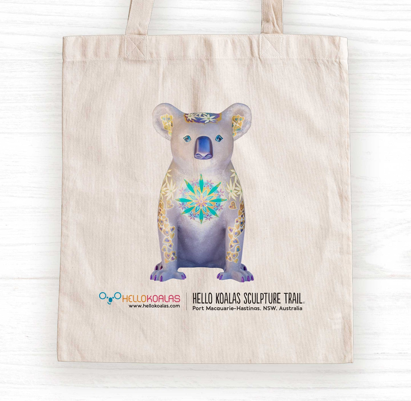 Hello Koalas Mandy the Mandala Tote Bag