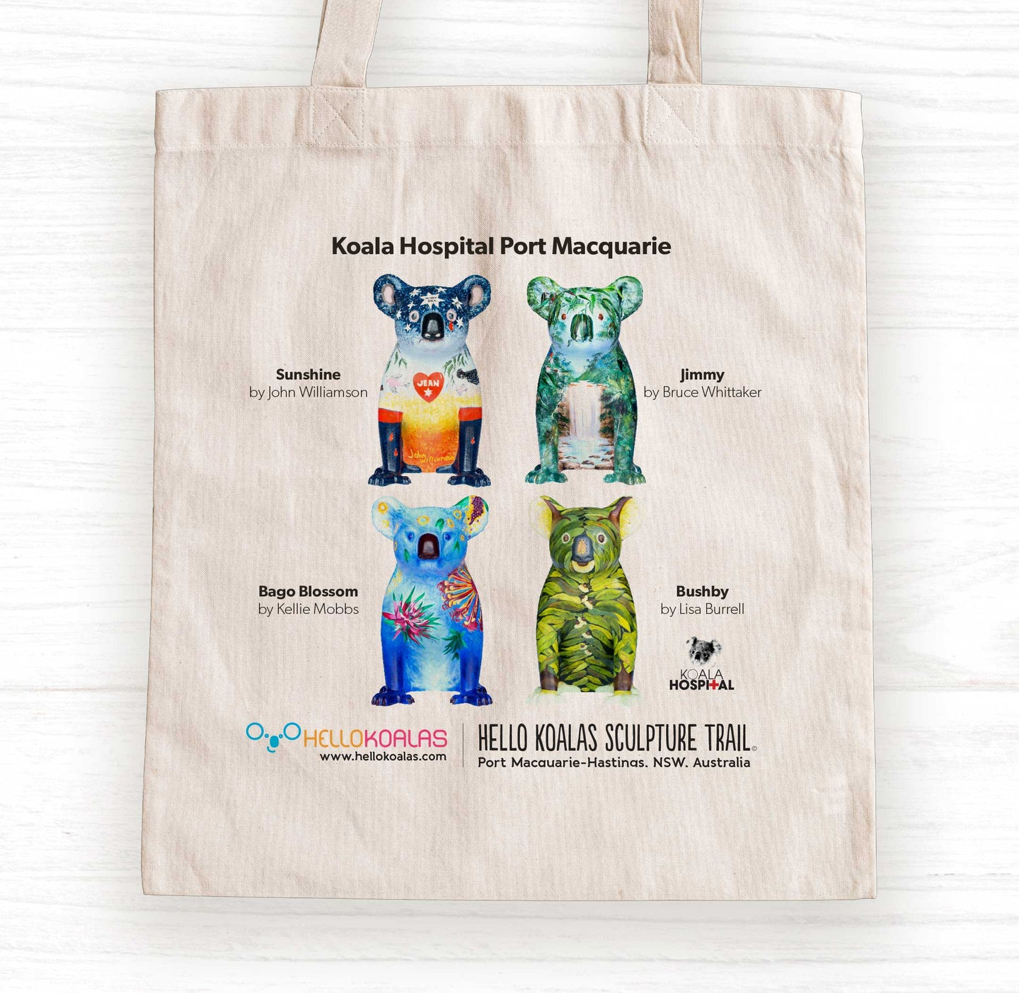 Hello Koalas Koala Hospital Tote Bag
