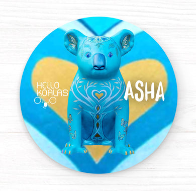 Hello Koalas Asha Badge