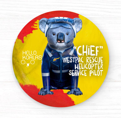 Hello Koalas Chief Badge