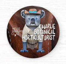 Hello Koalas Charlie Badge