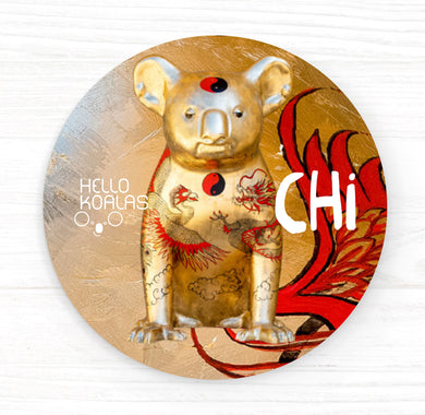 Hello Koalas Chi Badge