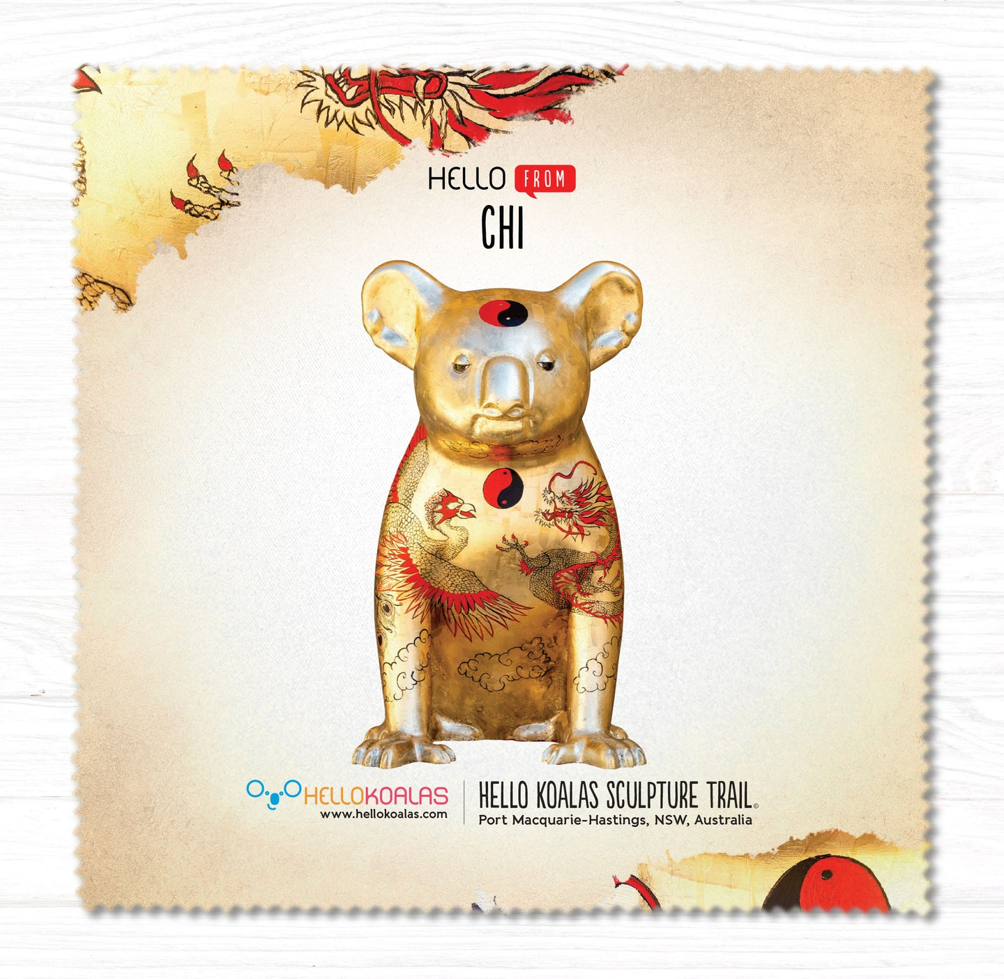 Hello Koalas Chi Cleaning Cloth