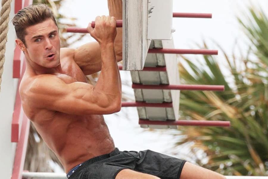 Zac Efron's Baywatch Workout Routine