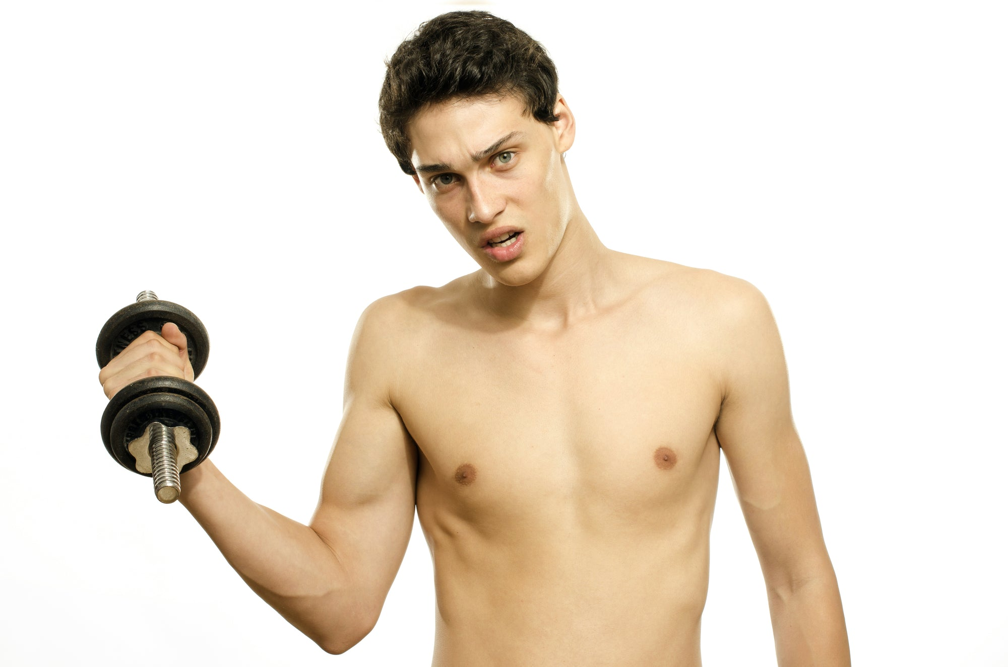 How to Lose Muscle Mass and Get Skinny