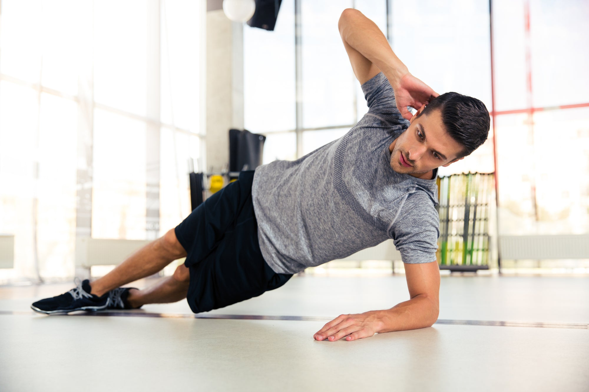How to Do A Side Plank + Hip Lift Properly