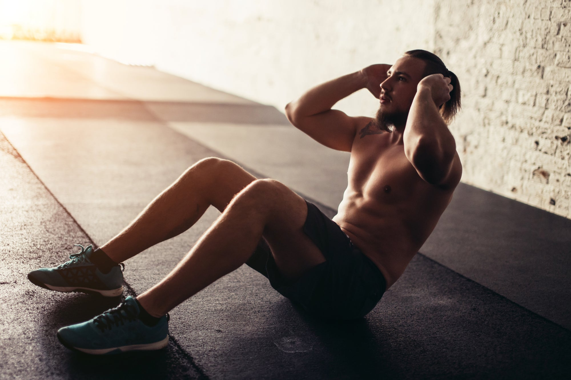The Proper Way to Do Crunches (With NO Neck Pain)