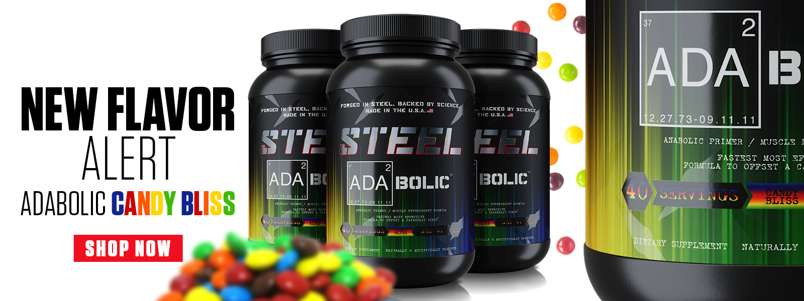 Steel Supplements - Forged in steel, Backed by science