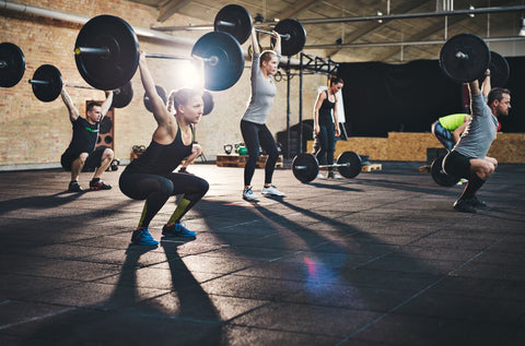 Group weightlifting