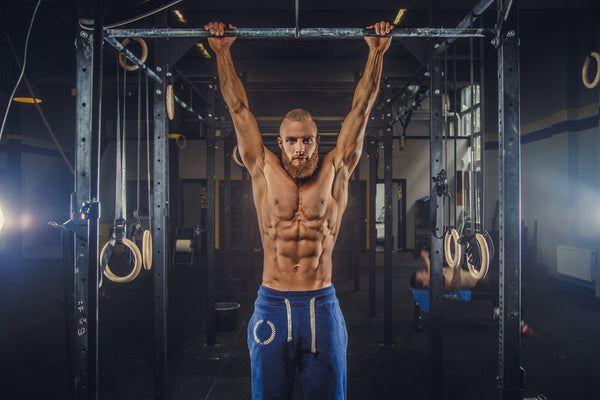 Pull-up hang for shoulder and lat mobility