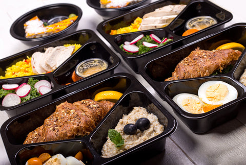 Fresh and healthy meal for fitness and bodybuilding.