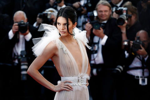 Kendall Jenner attends the screening of 'Girls Of The Sun' during the 71st Cannes Film Festival on May 12, 2018 in Cannes, France