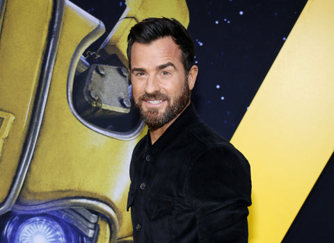 Justin Theroux at the World premiere of 'Bumblebee'