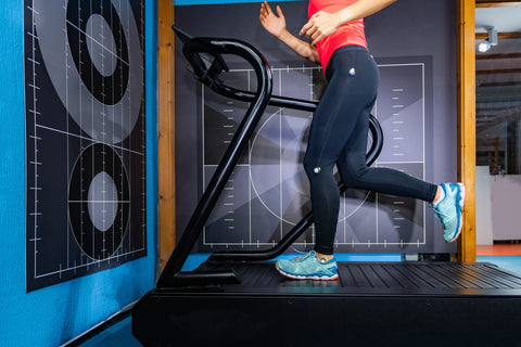 3D Camera Used to Record and Analyse Running on Treadmill