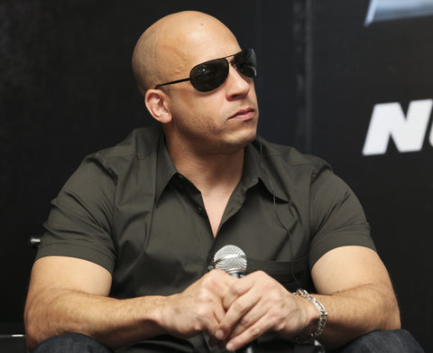 Actor Vin Diesel attendspress conference at the Marriot Hotel