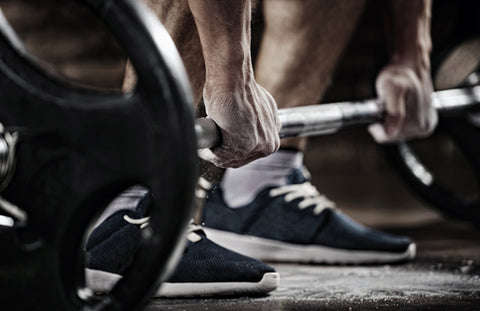 Hands on weights