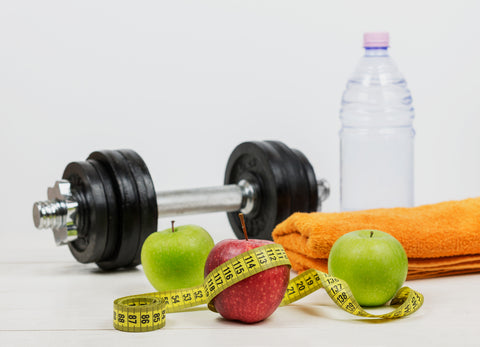 Concept for fitness, exercising and diet