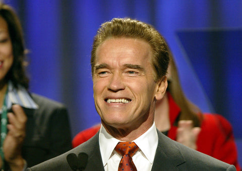 Arnold Schwarzenegger at the California Governor's Conference