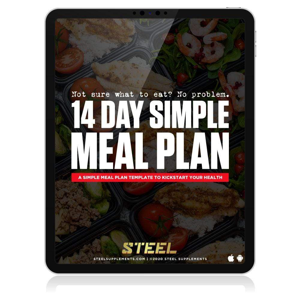 Steel Supplements 14 Day Simple Meal Plan eBook
