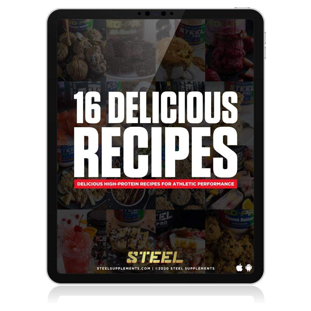 Steel Supplements 16 Delicious Recipe eBook