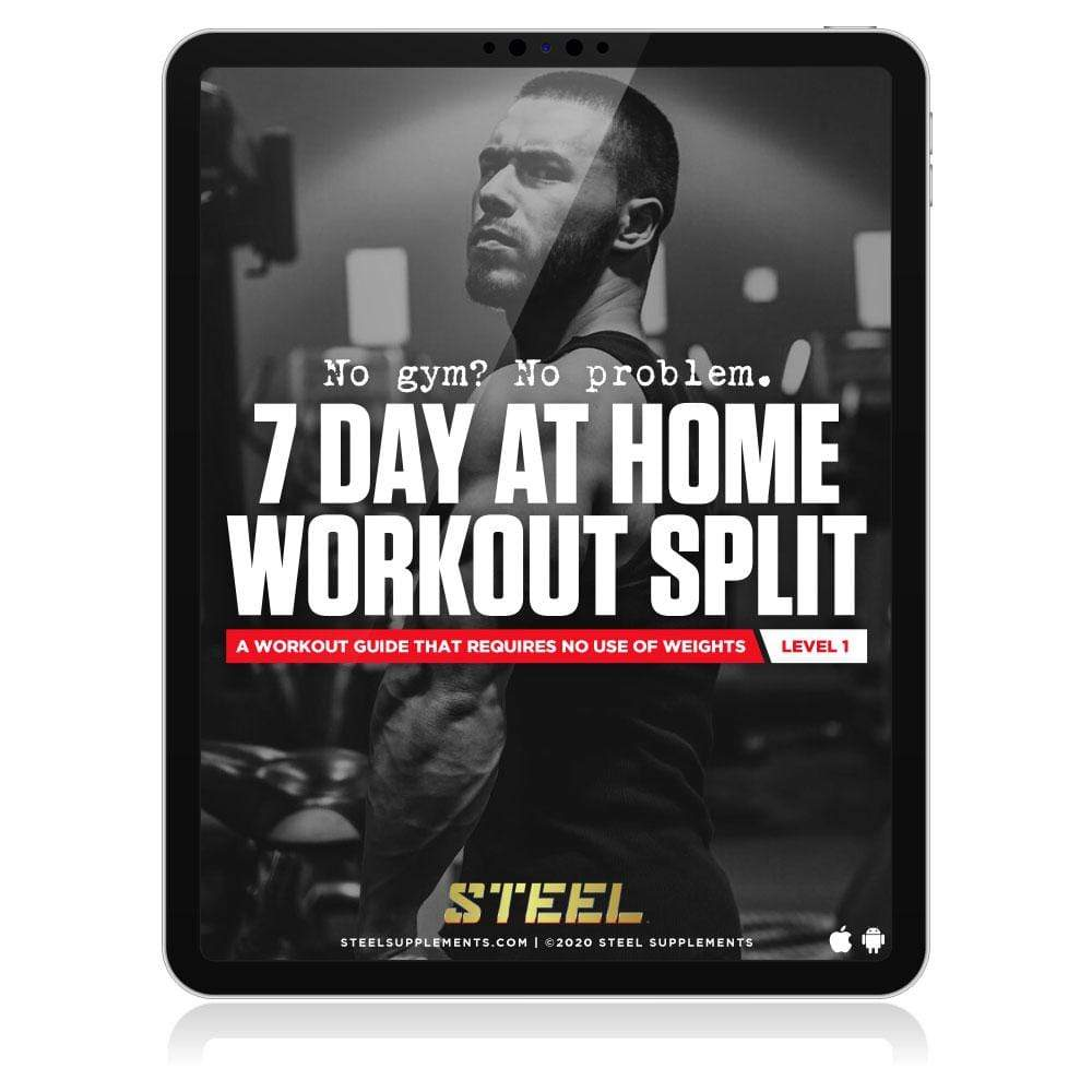 Steel Supplements Promo 7 Day Body Weight Home Workout