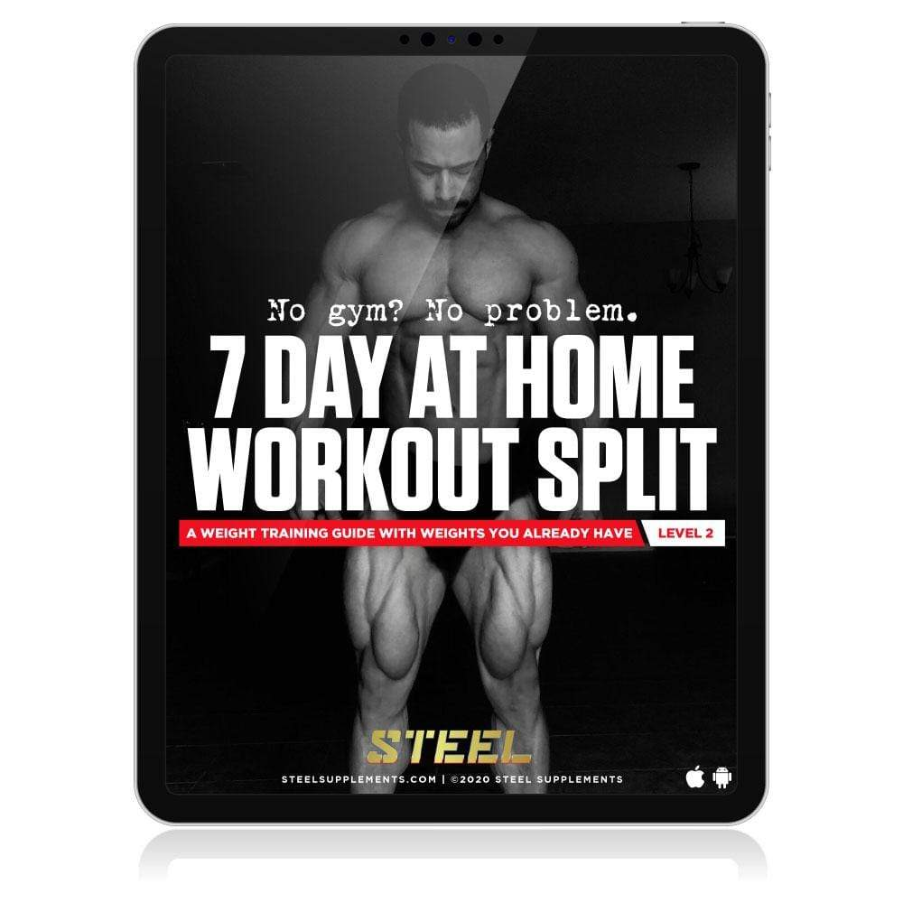 Steel Supplements Promo 7 Day Weighted Home Workout