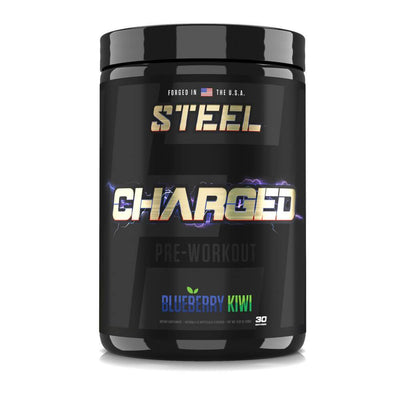 The Steel Supplements Supplement Blueberry Kiwi CHARGED-AF