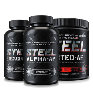 Steel Supplements Stack Frat Stack
