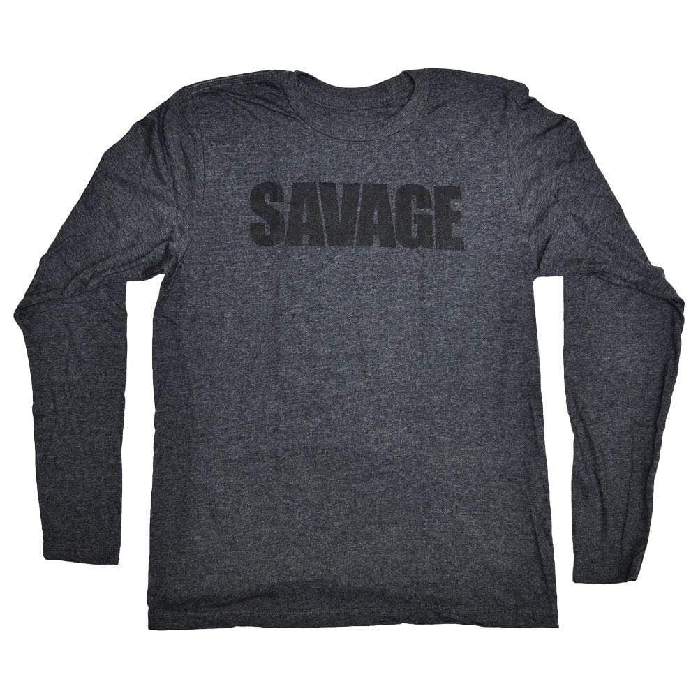 Jason and Jessica Fitness Promo Apparel Promo - SAVAGE. Long Sleeve