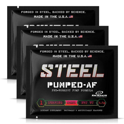 Steel Supplements Sample Pumped-AF Samples