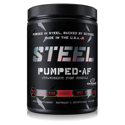 The Steel Supplements Promo Strawberry Watermelon PUMPED-AF